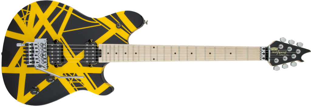 EVH_Wolfgang_Special_Striped_Black_and_Yellow