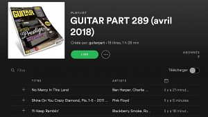 GP289 Playlist