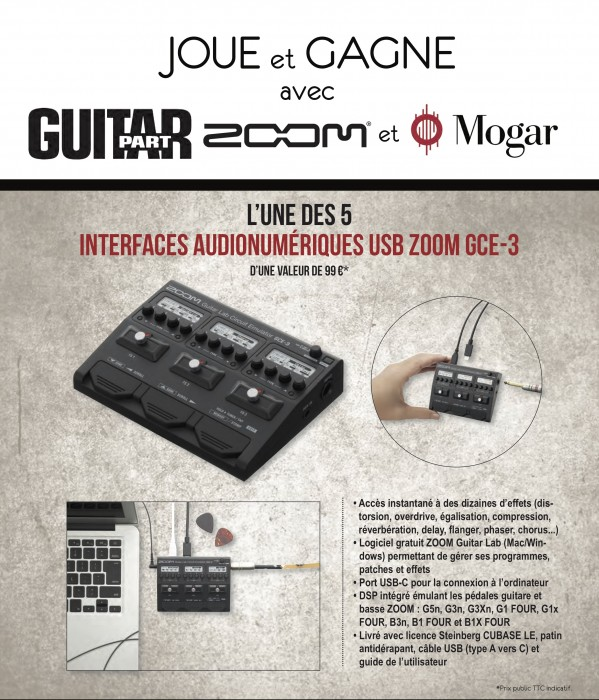 Jeu Zoom / Guitar Part 316